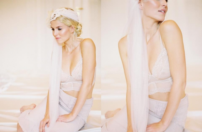 romantic bridal veil wedding hair accessory