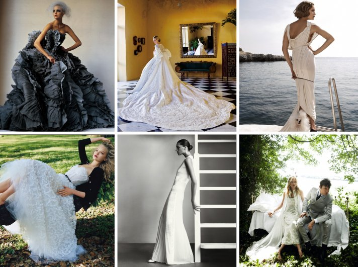 find your dream wedding style vogue 2012 summer weddings guide