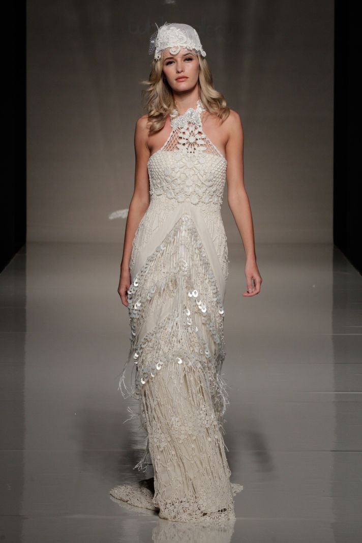 2013 Yolan Cris wedding dress bridal gowns from London 1
