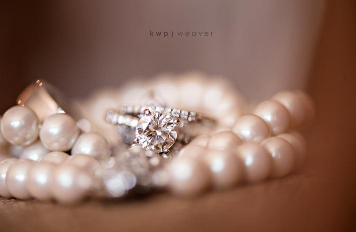 elegant southern wedding summer 2012 diamond engagement ring