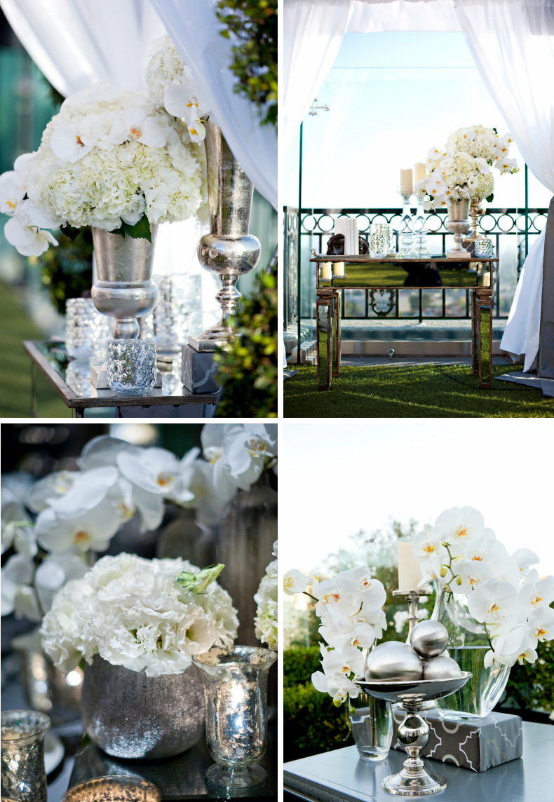 Elegant Cheap Wedding Decor Photograph | mirrored wedding re