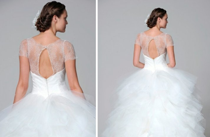 Marchesa 2013 wedding dress statement back bridal gowns 2