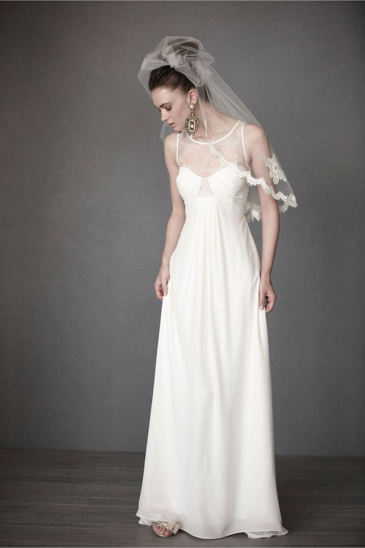 15 favorites from what 39 s new at bhldn onewed for Simple wedding dress images
