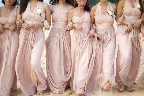 well dressed for bridesmaid wedding fashion guide blush pink