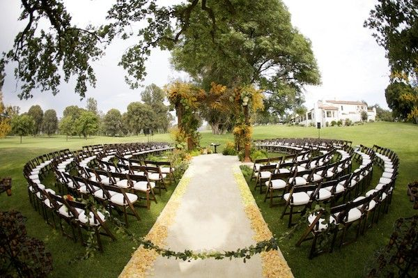 Outdoor Wedding Ceremony Ideas | OneWed