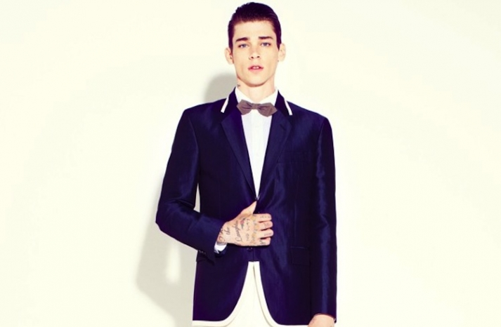marc jacobs wedding style for grooms navy suit coat