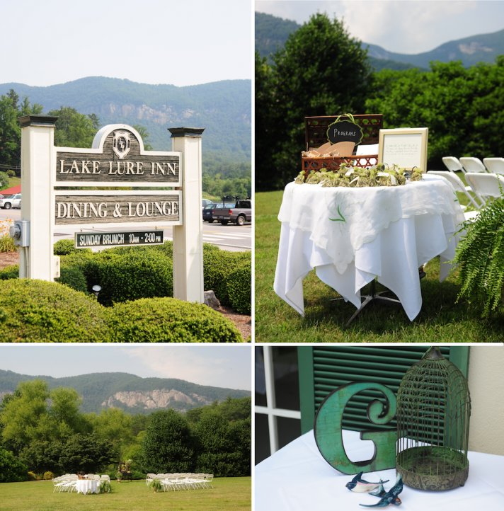 elegant real wedding outdoor wedding ceremony venue outdoorsy