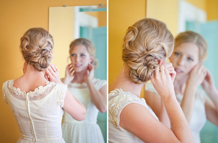 wedding updos we love summer 2012 twisted low updo