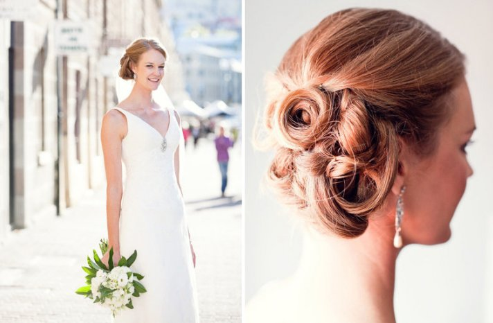 wedding updos we love summer 2012 twisted low updo 2