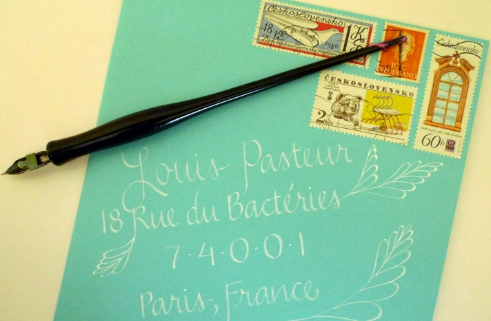 gorgeous wedding invitations hand calligraphy wedding stationery tiffany blue envelopes