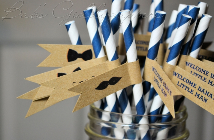 wedding color inspiration navy blue ceremony reception finds cocktail straws