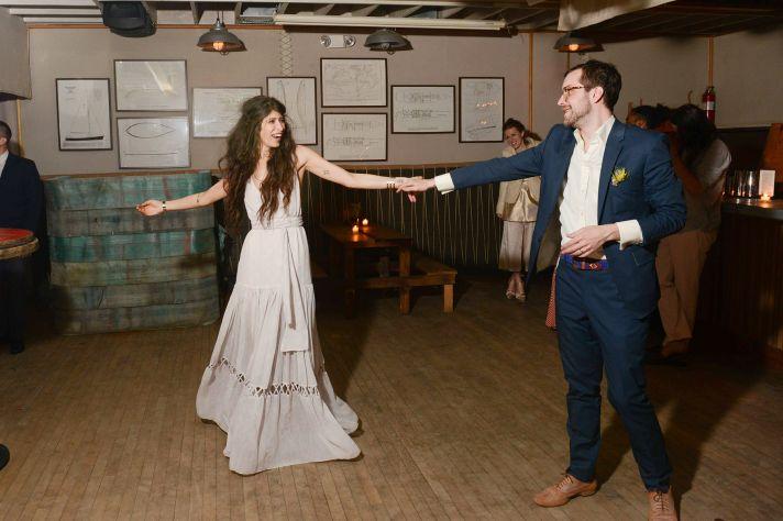 celebrity wedding inspiration bohemian romance real wedding first dance