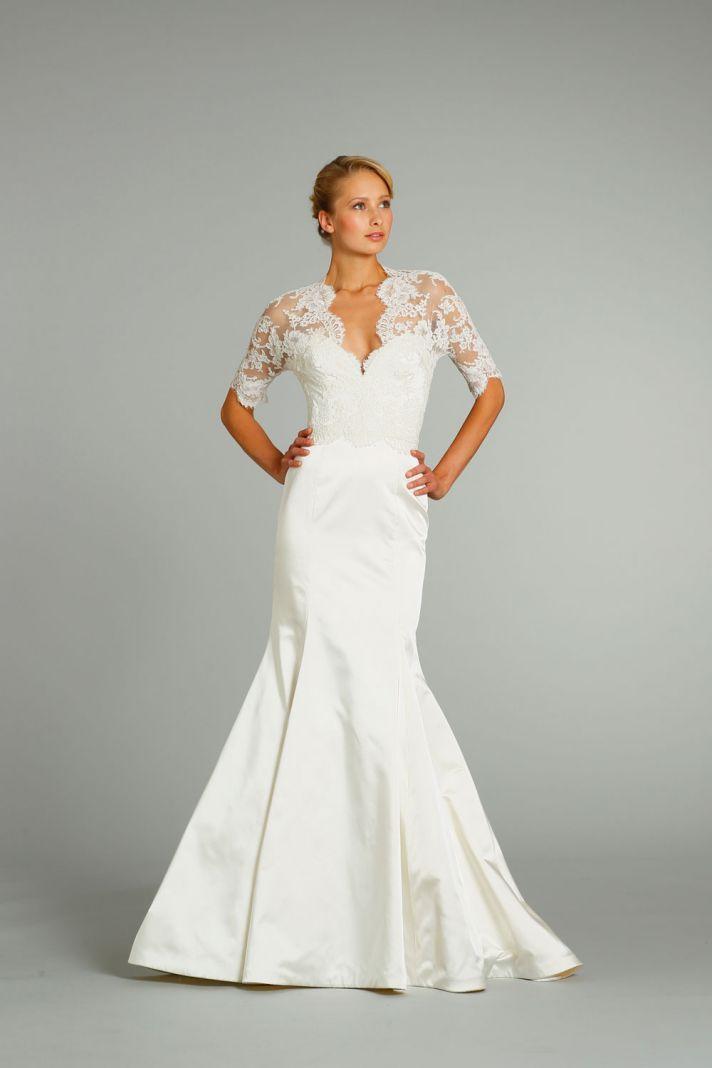 fall 2012 wedding dress Jim Hjelm bridal gowns 8256