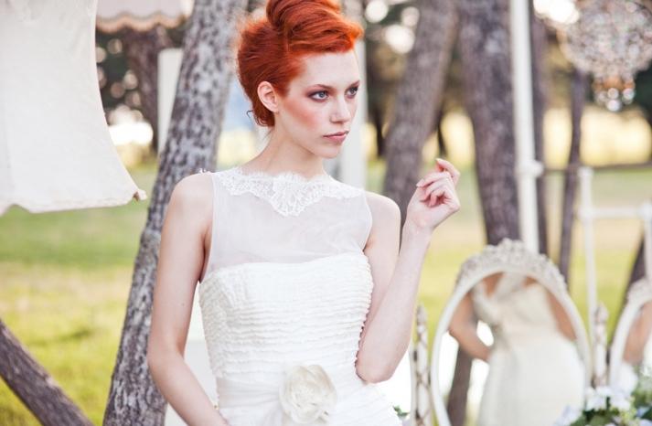 romantic wedding hair makeup inspiration 16