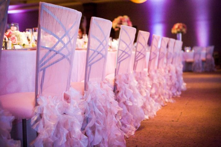 colorful wedding reception chameleon chairs 2