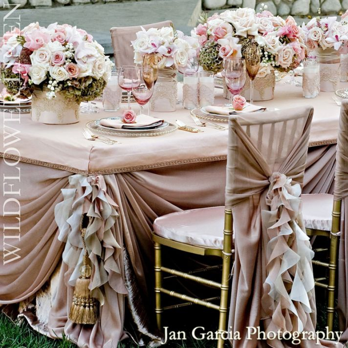 wedding reception decor inspiration pretty wedding chairs Wildflower ...