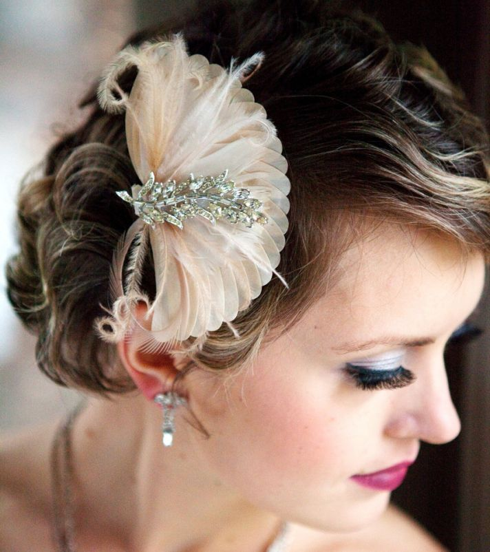 wedding hair accessories bridal veils handmade gold rhinestones