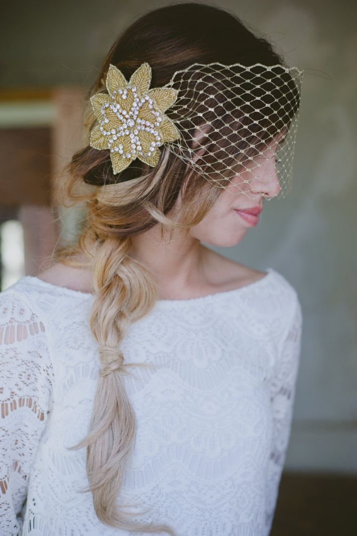 Exquisite Wedding Hair Accessories And Bridal Veils By Bethany Lorelle | OneWed