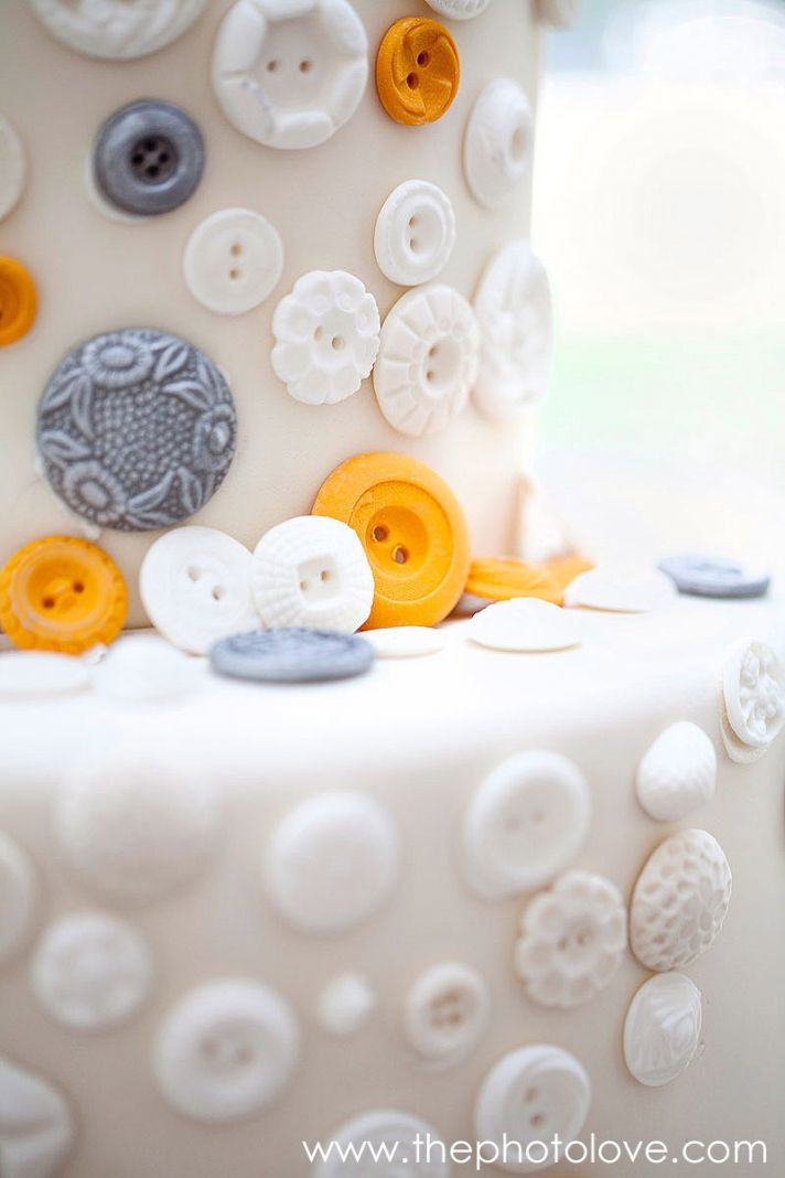 sweet wedding treats candy buttons