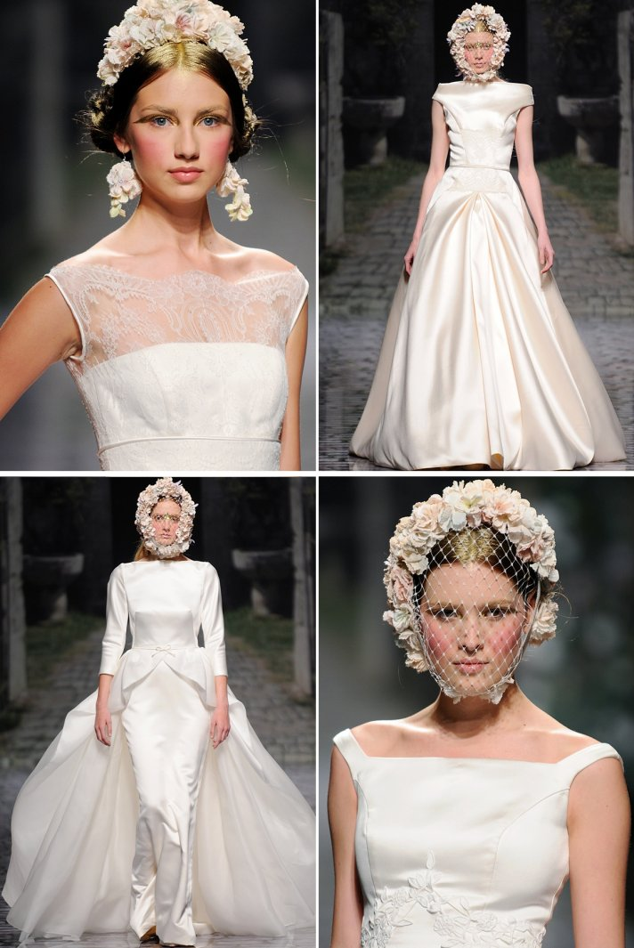 Spanish Bridal Couture Splashes Down