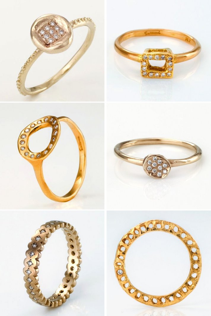 unique engagement rings and wedding bands that sparkle brighter