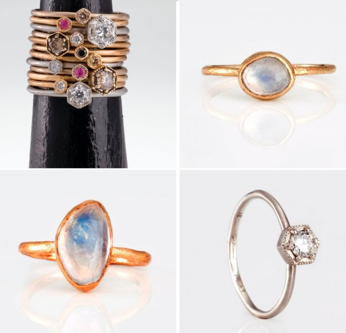 unique engagement rings and wedding bands that sparkle brighter 3