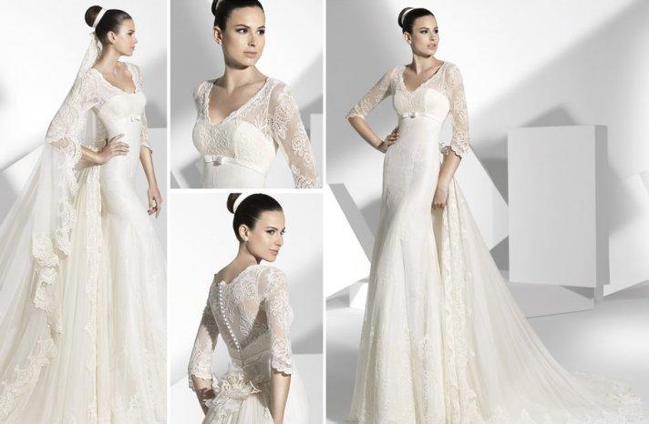 2013 wedding dress Franc Sarabia bridal gowns Spanish designers 1
