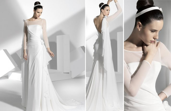 2013 wedding dress Franc Sarabia bridal gowns Spanish designers 6