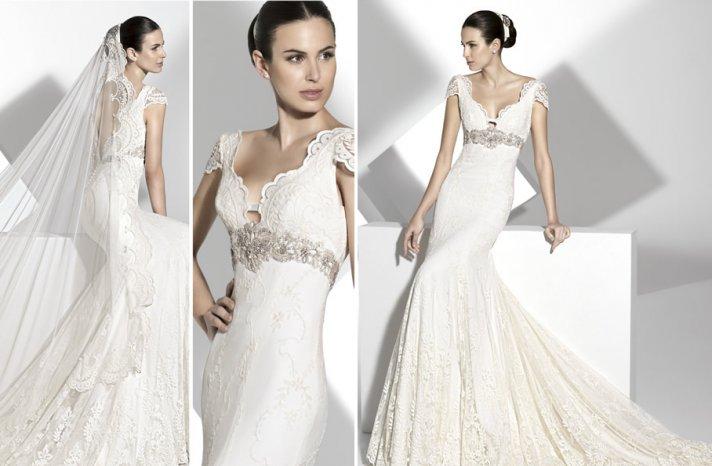 2013 wedding dress Franc Sarabia bridal gowns Spanish designers 9