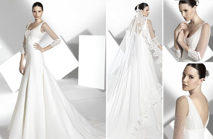 2013 wedding dress Franc Sarabia bridal gowns Spanish designers 16