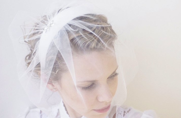 chic bridal headbands unique wedding hair accessories vintage with veil