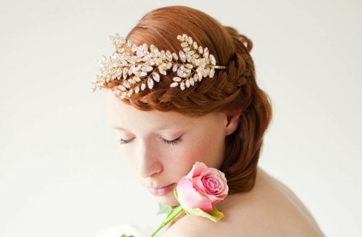 handmade wedding hair accessories bridal headbands