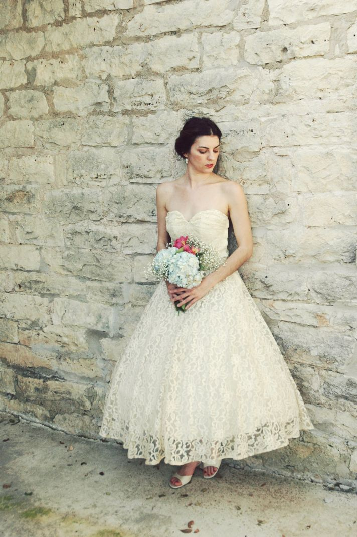 Wedding dresses: retro wedding dress