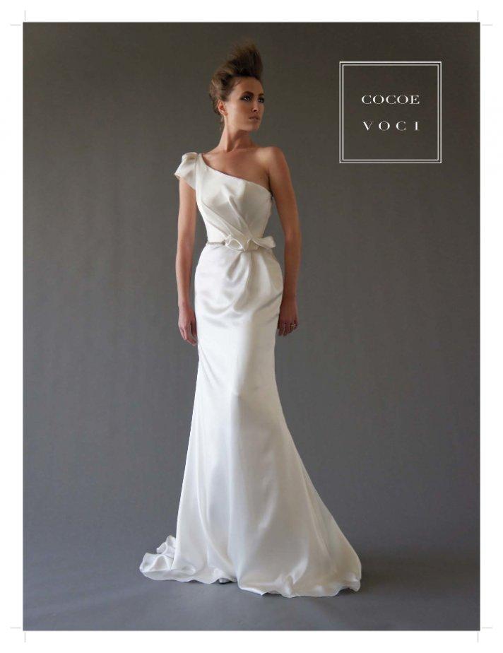 fall 2012 wedding dress Cocoe Voci bridal gowns 1