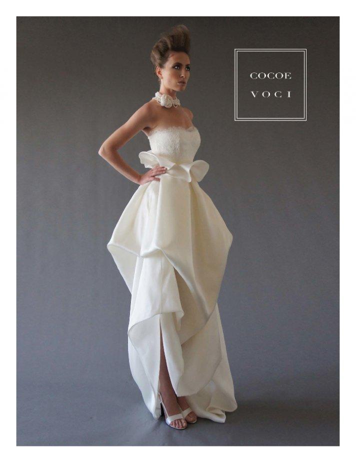 fall 2012 wedding dress Cocoe Voci bridal gowns 7