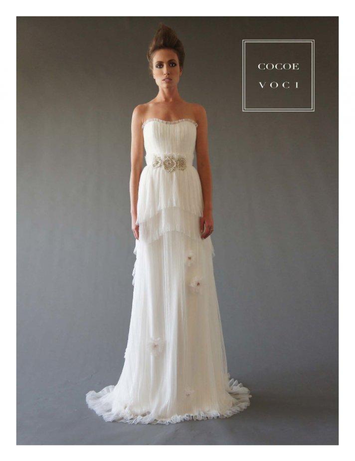 fall 2012 wedding dress Cocoe Voci bridal gowns 11