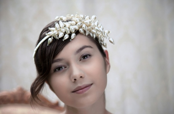 beautiful bridal hair accessories Parant Parant wedding headband 3