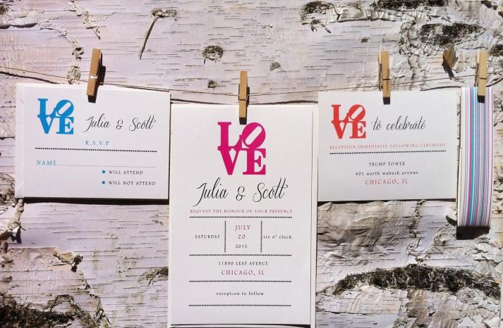 wedding invitations for modern weddings Etsy wedding finds LOVE