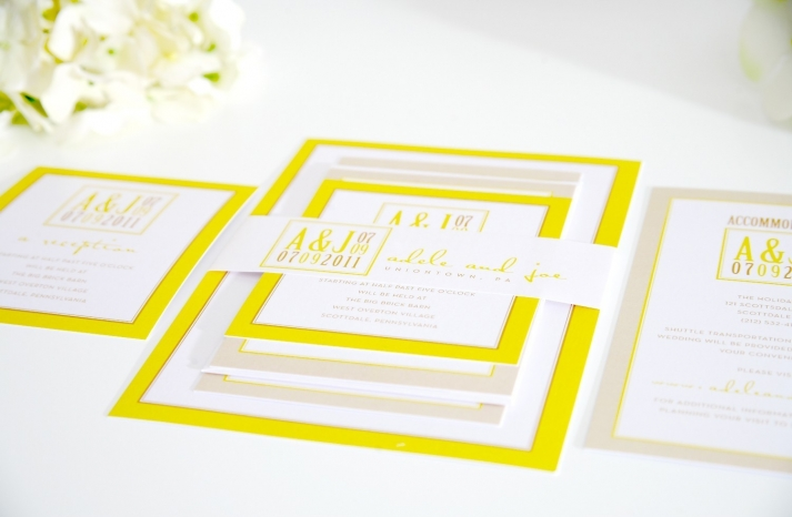 20 Beautiful Wedding Invitations Perfect for Modern I Dos