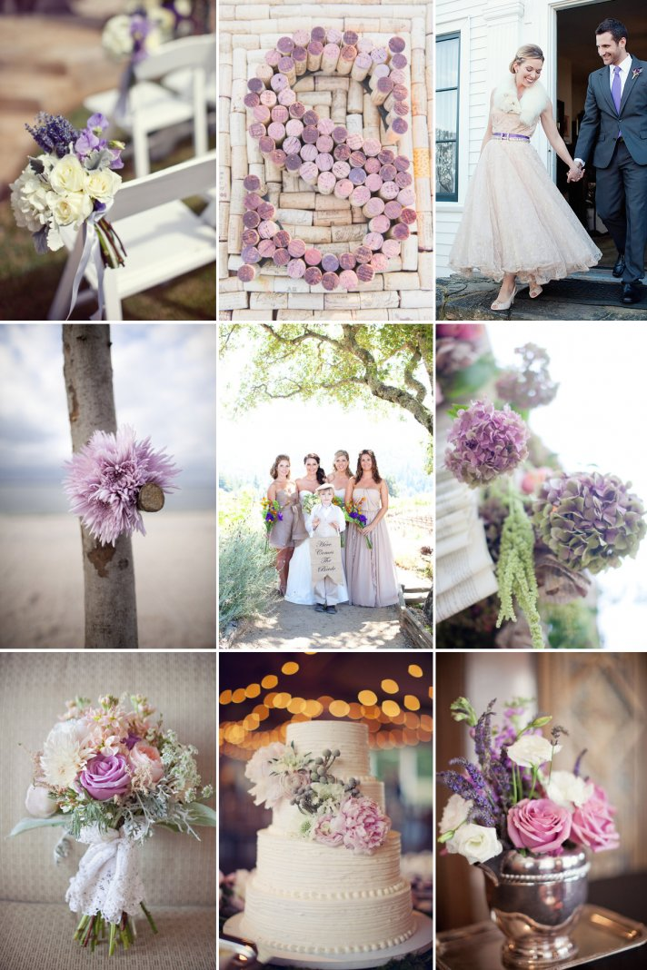Perfect Palette For Romantic Winery Weddings Onewed