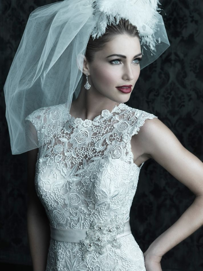 2013 wedding dress Allure Couture bridal gowns c226 a