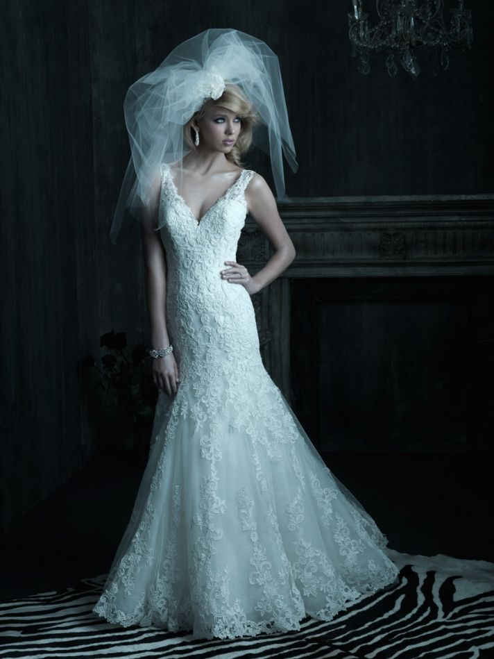 2013 wedding dress Allure Couture bridal gowns c202