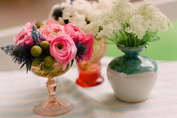 Anthropologie inspired wedding for vintage romantic brides 2
