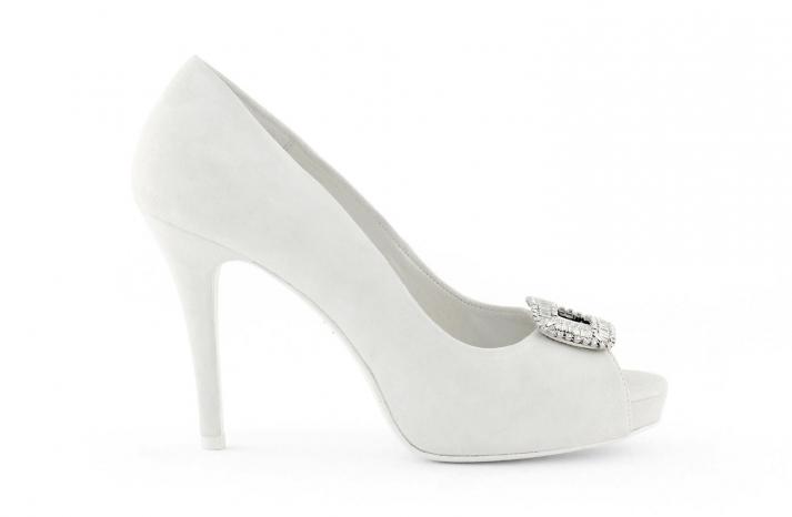 wedding shoes bridal heels by Rosa Clara 2013 1b
