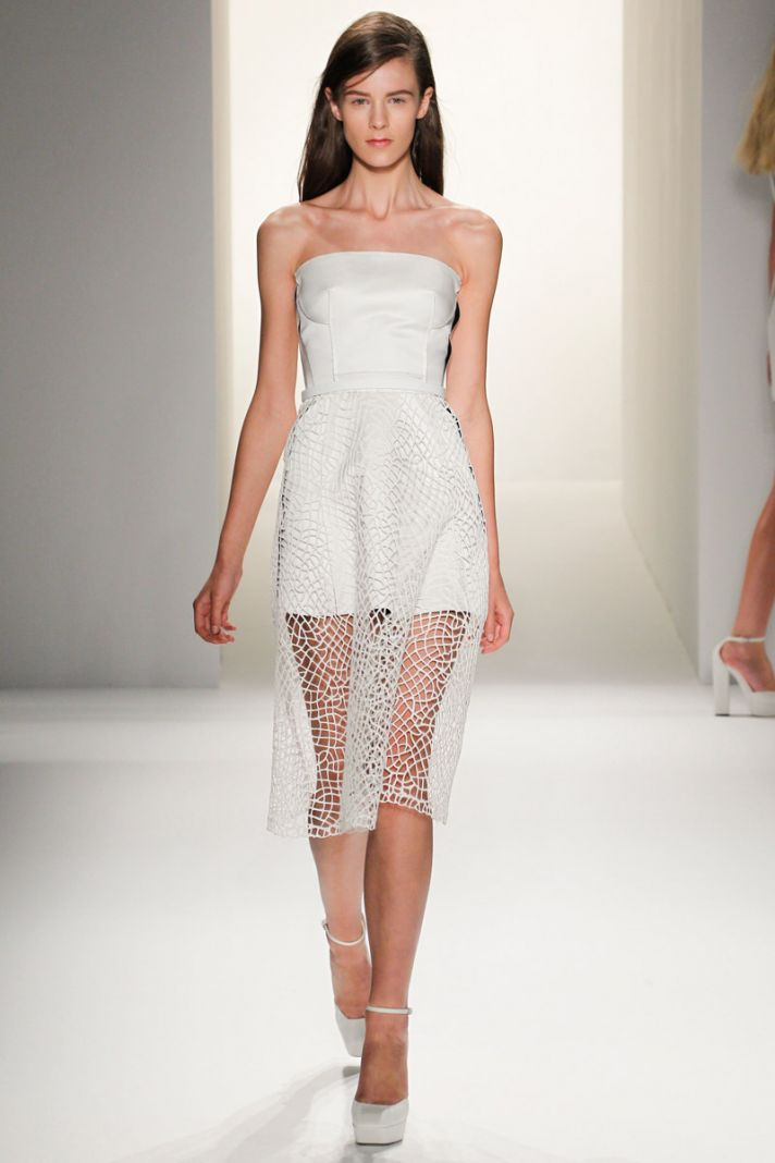 Fashion Dresses Style: Little White Wedding Dress Inspiration From New York
