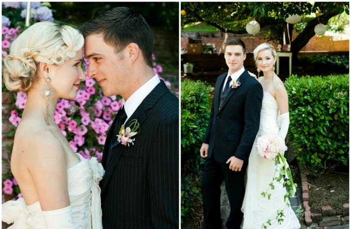 California wedding San Francisco mansion venue elegant bridal inspiration braided updo