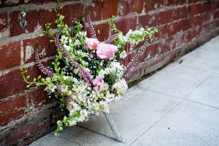 California wedding San Francisco mansion venue elegant bridal inspiration bouquet 2