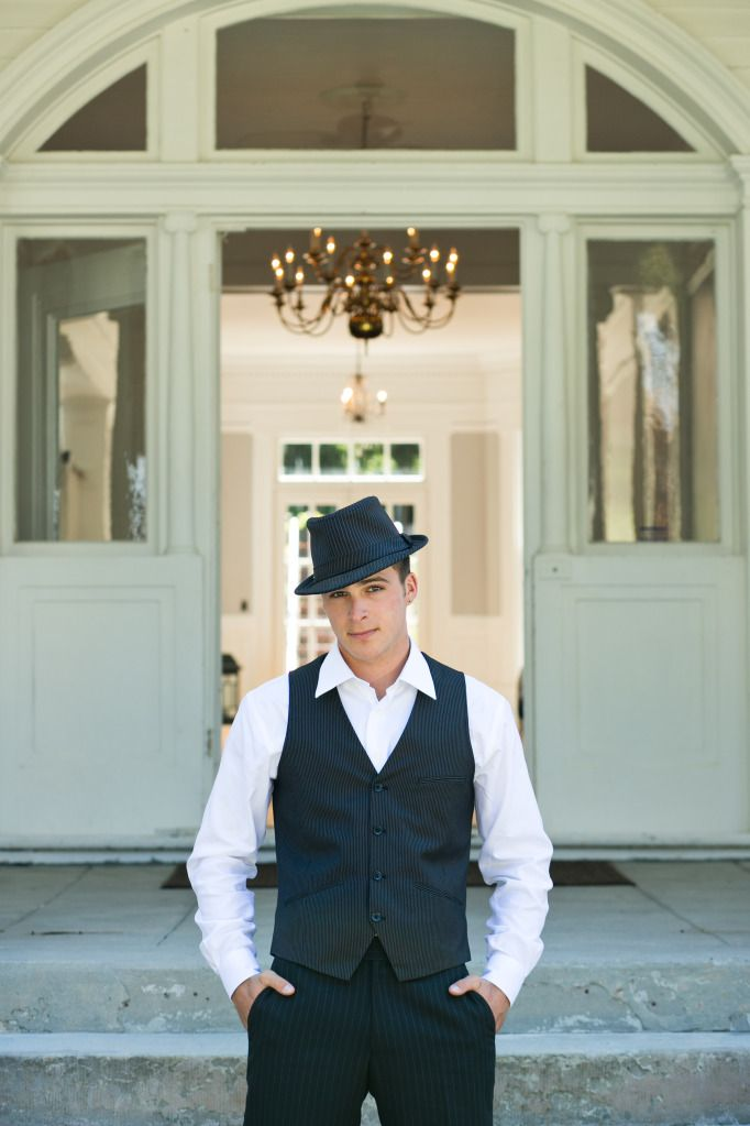 san francisco wedding shoot vintage groom at mansion venue