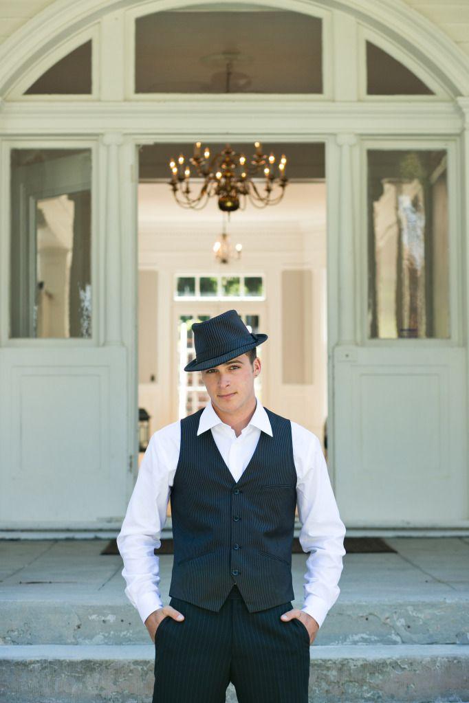 san francisco wedding shoot vintage groom at mansion venue