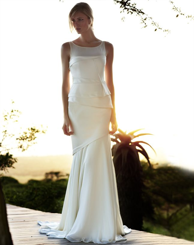 vintage inspired wedding gowns retro glam brides by Amanda Wakely 9